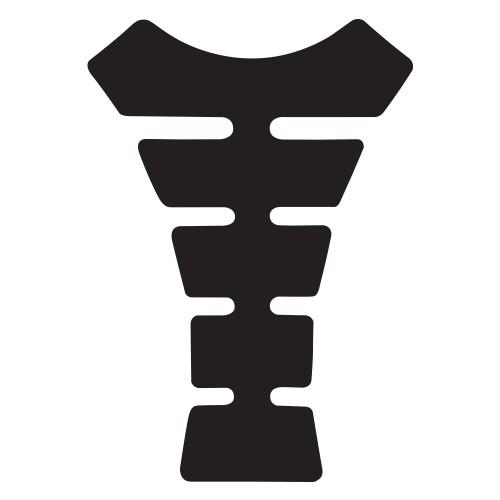 наклейка защитная на бак  Oxford Gel Spine Original Black