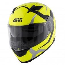 Мотошлем GIVI 50.5 TRIDION Vortix neon yellow