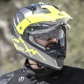 Мотошлем GIVI HV30 MONTAUK GREY/YELLOW
