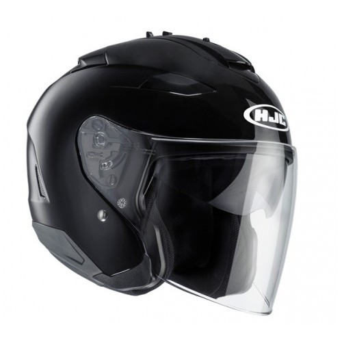 Шлем открытый HJC IS-33 II METAL BLACK