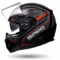 Мотошлем интеграл ISPIDO ISPIDO RACE SV BLACK/RED/GRAY