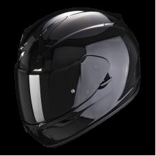 Шлем SCORPION SOLID EXO-390 AIR Черный Глянцевый