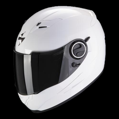 Шлем SCORPION SOLID EXO-490 AIR Белый Глянцевый