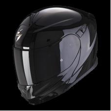 Шлем SCORPION SOLID EXO-920 Черный Глянцевый