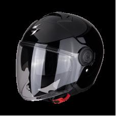 Шлем SCORPION SOLID EXO-CITY Черный Глянец