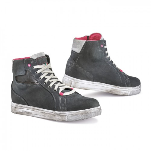 Мотокеды женские TCX STREET ACE LADY WATERPROOF DARK GREY