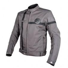 Мото куртка HEVIK VINTAGE MAN Silver