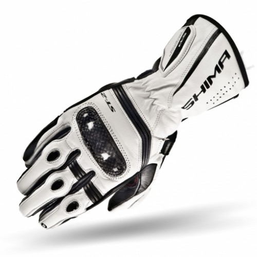 Мотоперчатки SHIMA ST-2 white
