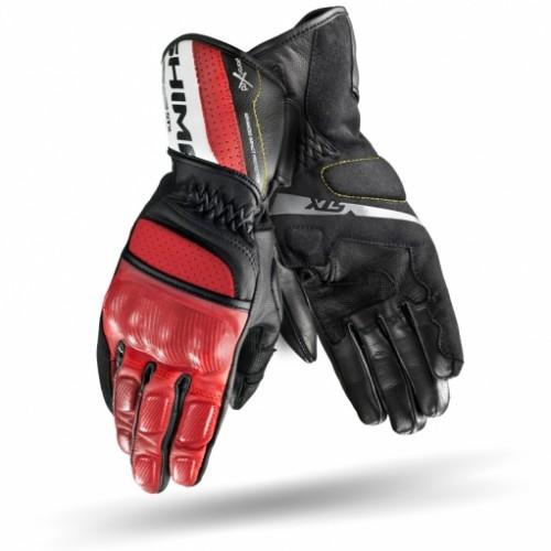 Мотоперчатки SHIMA STX black-red