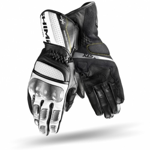 Мотоперчатки SHIMA STX black-white