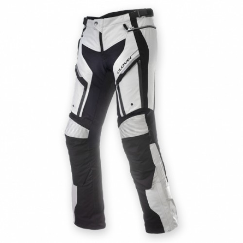Мотоштаны Clover GT-PRO-2 WP PANTS BLACK WHITE