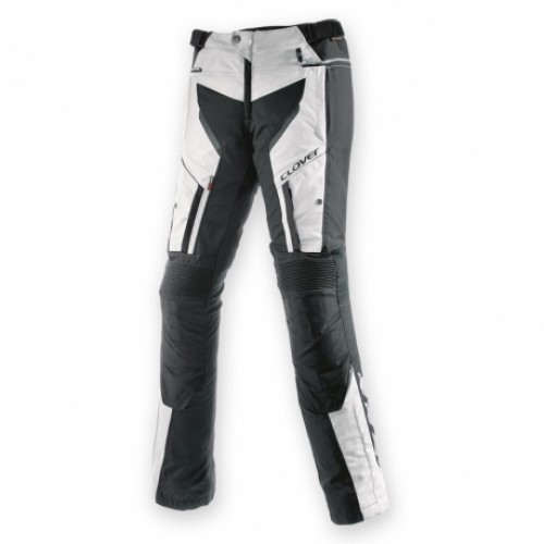 Мотоштаны женские Clover GT-PRO-2 WP PANTS LADY black white