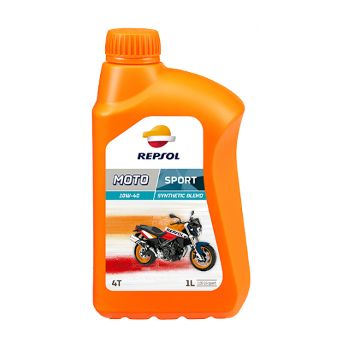 Масло моторное Repsol Moto Sport 4T 10W40, 1л