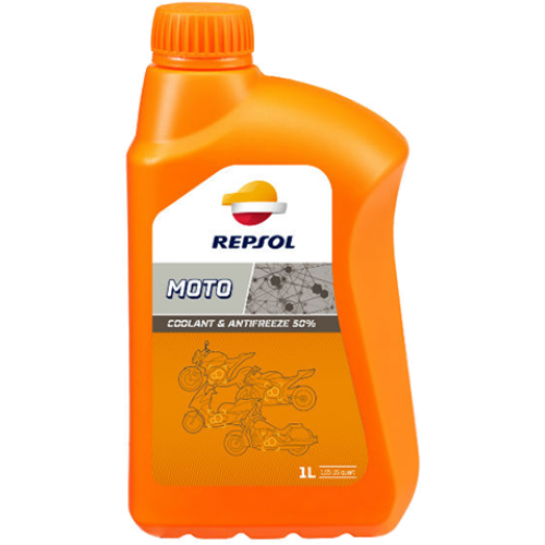 Антифриз Repsol Moto Coolant & Antifreeze, 1л