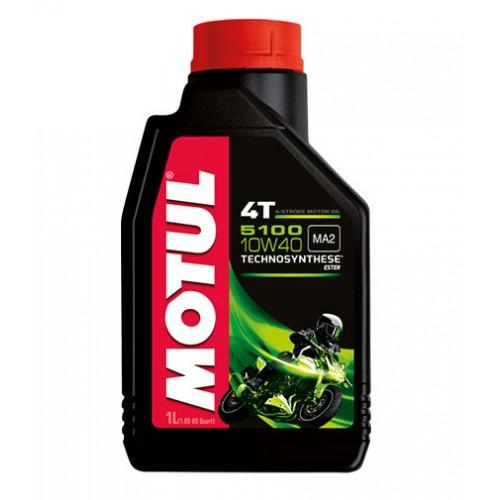 масло моторное Motul 5100 4T 10W40 1l