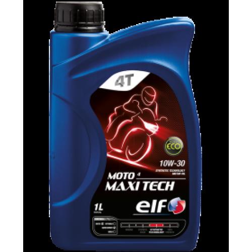 масло моторное ELF MOTO 4 MAXI TECH 10W-30 1L
